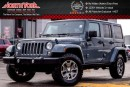 Used 2014 Jeep Wrangler Unlimited Rubicon 4x4|Manual|Nav|Hard Top|HTD Frnt Seats|Bluetooth|17