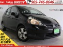 Used 2007 Honda Fit LX| LOCAL TRADE| WE WANT YOUR TRADE| for sale in Burlington, ON