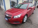Used 2014 Chevrolet Cruze TURBO DIESEL LOADED LT MODEL 5 PASSENGER 2.0L - DOHC.. LEATHER.. HEATED SEATS.. BACK-UP CAMERA.. NAVIGATION SYSTEM.. for sale in Bradford, ON