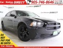 Used 2012 Dodge Charger SE| PUSH START| TOUCH SCREEN| LOCAL TRADE| for sale in Burlington, ON