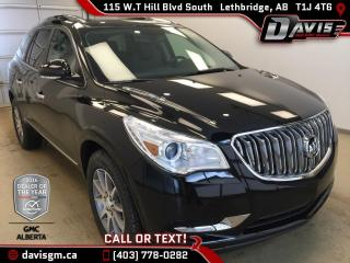 New 2017 Buick Enclave Leather-Heated Seats, AWD, Dual Panel Sunroof for sale in Lethbridge, AB