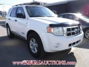 Used 2008 Ford ESCAPE HYBRID 4D UTILITY 4WD for sale in Calgary, AB