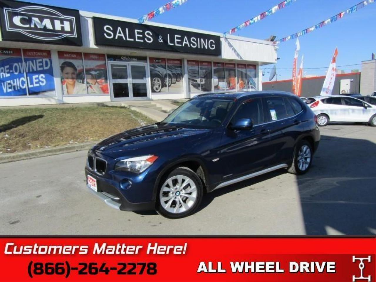 2012 BMW X1 xDrive28i   AWD, NAVIGATION, LEATHER, SUNROOF!