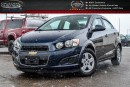 Used 2015 Chevrolet Sonic LT|Backup Cam|Bluetooth|R-Start|Keyless Entry|Pwr Windows for sale in Bolton, ON