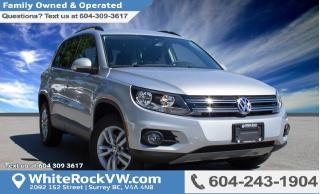 New 2017 Volkswagen Tiguan Trendline TOUCHSCREEN MEDIA DISPLAY, REAR VIEW CAMERA & AUX INPUT for sale in Surrey, BC