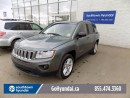 Used 2013 Jeep Compass LEATHER, SUNROOF, NAV,ALLOY WHEELS, AWD for sale in Edmonton, AB