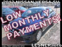 Used 2012 Nissan Versa $3000 DOWN, $140 for 60 months! SALE$8688 for sale in Hamilton, ON