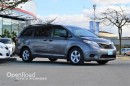 Used 2015 Toyota Sienna 5dr Mini Van, Bluetooth, Back Up Cam, Steering Wheel Audio Controls, Multi Zone Climate Controls for sale in Richmond, BC