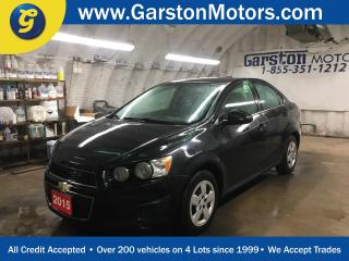 Used 2015 Chevrolet Sonic LT*MY LINK PHONE CONNECT*KEYLESS ENTRY w/REMOTE START*HEATED FRONT SEATS*BACK UP CAMERA*POWER WINDOWS/LOCKS/MIRRORS*CRUISE CONTROL*CLIMATE CONTROL* for sale in Cambridge, ON