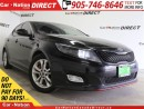 Used 2014 Kia Optima LX| NAVI| BACK UP CAMERA| TOUCH SCREEN| for sale in Burlington, ON