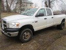 Used 2007 Dodge Ram 3500 5.9 Cummins  ((( 6 Speed Manual ))) for sale in Mansfield, ON