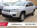 Used 2013 Jeep Compass North Edition - 4x4, Auto, Low KM's!! for sale in Edmonton, AB