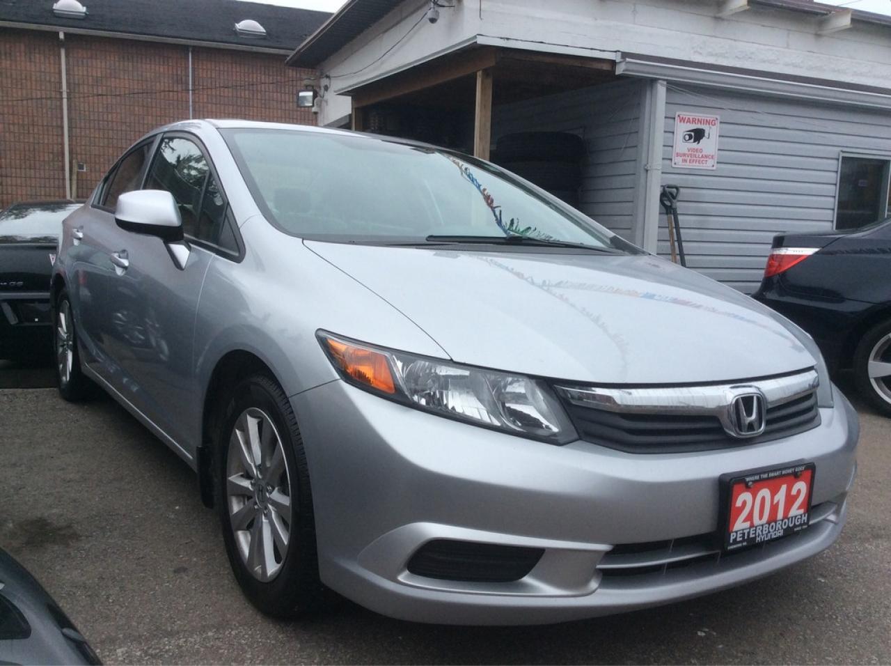 2012 Honda Civic Navigation Leather Sunroof Bluetooth Alloys