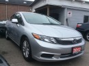 Used 2012 Honda Civic Navigation Leather Sunroof Bluetooth Alloys for sale in Scarborough, ON