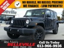 Used 2016 Jeep Wrangler Unlimited Willys Wheeler-Dual Tops for sale in Belleville, ON