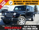 Used 2016 Jeep Wrangler Unlimited Sahara-Navigation-Remote Start for sale in Belleville, ON