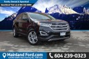 Used 2016 Ford Edge Titanium LOCAL, NO ACCIDENTS, LOW KM'S for sale in Surrey, BC