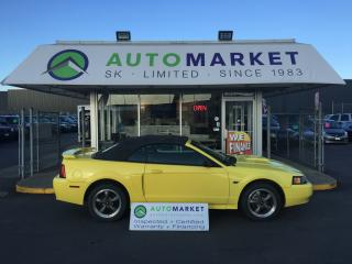 Used 2001 Ford Mustang GT Deluxe Convertible Leather! Warranty! for sale in Langley, BC