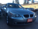 Used 2004 BMW 5 Series 530i Bluetooth Leather Heated Seats Sunroof Alloys for sale in Scarborough, ON