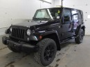 Used 2014 Jeep Wrangler Unlimited Sahara 4x4 GPS Navigation - Tubular Side Steps - Heated Front Seats for sale in Edmonton, AB