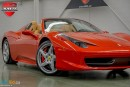 Used 2013 Ferrari 458 ITALIA - for sale in Oakville, ON