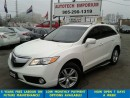 Used 2013 Acura RDX Prl White Tech Navigation/Camera/Power Lift Gate for sale in Mississauga, ON