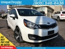 Used 2014 Kia Rio SX | NAVI| LEATHER| TOUCH SCREEN| BACK UP CAM| for sale in Burlington, ON