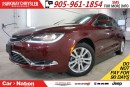 Used 2016 Chrysler 200 PRE-CONSTRUCTION SALE| LIMITED| REAR CAM & MORE for sale in Mississauga, ON