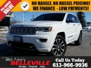 Used 2017 Jeep Grand Cherokee Overland-Navigation-Trailer TOW Group for sale in Belleville, ON