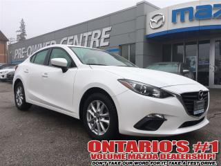 Used 2016 Mazda MAZDA3 GS / SKY / HEATED SEATS / ONE OWNER!!!! for sale in North York, ON