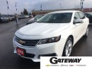 Used 2014 Chevrolet Impala 1LT|WHITE|WITH LEATHER & CLOTH INTERIOR|BIG SCREE| for sale in Brampton, ON