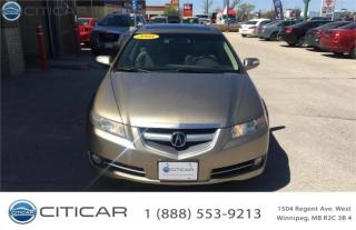 Used 2008 Acura TL for sale in Winnipeg, MB