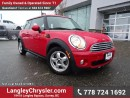 Used 2010 MINI Cooper Classic W/ 6-SPEED MANUAL & HEATED FRONT SEATS for sale in Surrey, BC