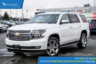 New 2017 Chevrolet Tahoe Premier Navigation, Heated Seats, and Backup Camera for sale in Port Coquitlam, BC