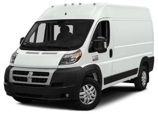 New 2017 RAM 2500 ProMaster High Roof 136 WB Hgh Roof Cargo for sale in Surrey, BC
