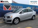 Used 2016 Chevrolet Sonic HEATED SEATS, REMOTE START, REAR VISION CAMERA, 1. for sale in Ottawa, ON