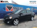 Used 2016 Chevrolet Sonic SUNROOF, HEATED SEATS, REMOTE START, REAR VISION C for sale in Ottawa, ON