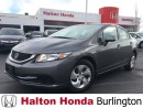 Used 2013 Honda Civic LX | 5SP | HEATED SEATS | BLUETOOTH | KEYLESS ENTR for sale in Burlington, ON
