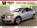 Used 2016 Chevrolet Cruze LT| BLUETOOTH| CRUISE CONTROL| BACKUP CAM| 41,023K for sale in Kitchener, ON