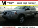 Used 2009 Pontiac Montana Sv6 | DVD| POWER LOCKS/WINDOWS| A/C| 160,814KMS for sale in Cambridge, ON