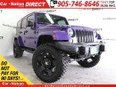 Used 2016 Jeep Wrangler Unlimited Sahara| NAVI| UPGRADED WHEELS| LEATHER| for sale in Burlington, ON