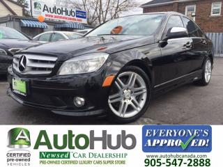 Used 2009 Mercedes-Benz C 300 AWD-SUNROOF-LEATHER for sale in Hamilton, ON