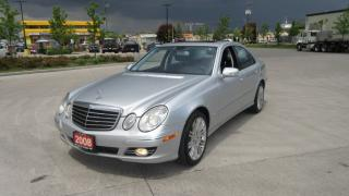 Used 2008 Mercedes-Benz E350 4 Matic, low km, Navi,3 years warranty available for sale in North York, ON