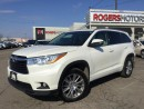 Used 2014 Toyota Highlander XLE AWD V6 - NAVI - 8 PASS - LEATHER for sale in Oakville, ON