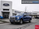 Used 2015 Ford F-150 XLT, Ford factory certified, chrome pkg, ext warr for sale in Mississauga, ON