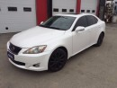 Used 2010 Lexus IS 250 AWD LEATHER SUNROOF for sale in Brampton, ON