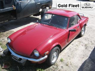 Used 1979 Triumph Spitfire - for sale in North Bay, ON