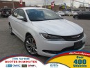 Used 2015 Chrysler 200 CHRYSLER-200S | BEAUTIFUL MUST SEE! for sale in London, ON