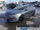 Used 2014 Ford Fusion SE  Moonroof, Reverse Sensing Ststem, Sync for sale in Woodstock, ON