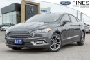Used 2017 Ford Fusion SE - DEMO W/MOONROOF, NAVI, LEATHER for sale in Bolton, ON